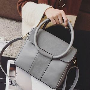 Handbags - Gray Crossbody Hand bag
